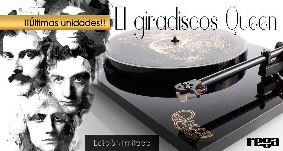 El giradiscos Queen by Rega
