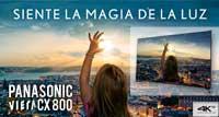 Panasonic CX 800, siente la magia de la luz