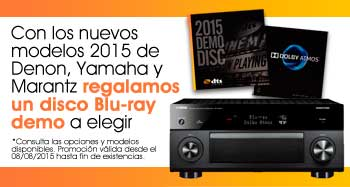¡Un disco Blu-ray demo a elegir!