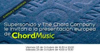 Presentación europea de CHORD MUSIC