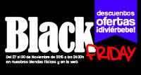 ¡El Black Friday ya está aquí!