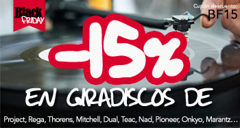 BLACK FRIDAY: Giradiscos