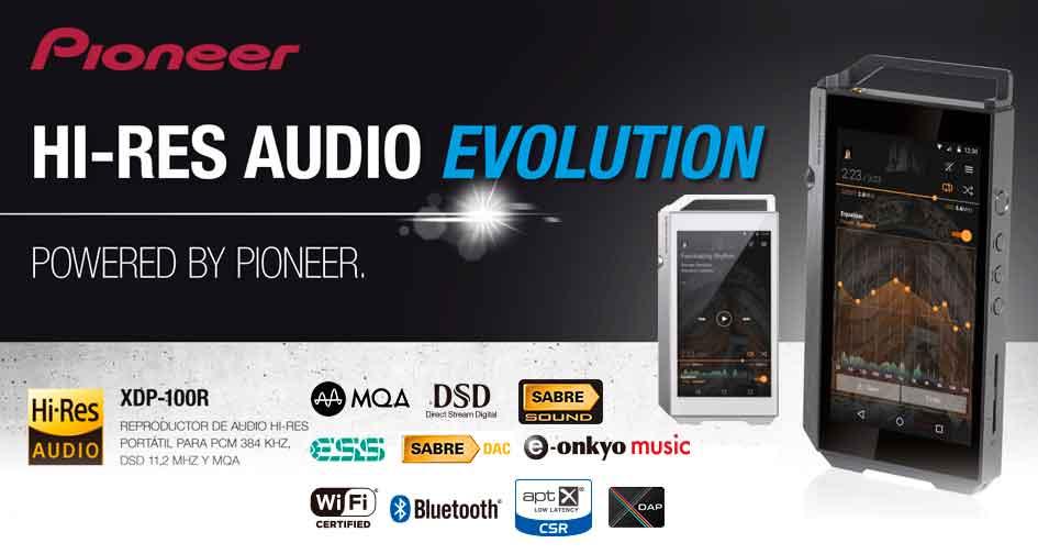 Piooner: HI-RES Audio Evolution
