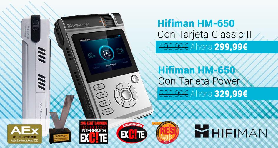 Promoción Hifiman HM-650