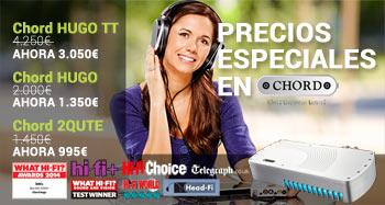 Precios especiales en Chord Electronics