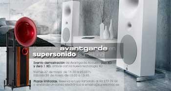Descubre Avantgarde en Supersonido Barcelona