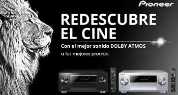 Redescubre el cine con el mejor Sonido Dolby Atmos con los mejores precios