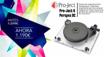 Oferta Pro-Ject 6-perspeX DC