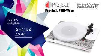Pro-Ject PS01-Wave de oferta