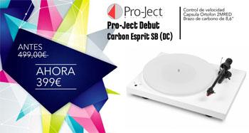 Pro-Ject Debut Carbon Esprit SB (DC) de oferta