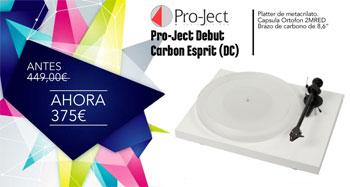 Pro-Ject Debut Carbon Esprit (DC) de oferta