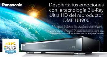 Despierta tus emociones con la tecnología Blu-Ray Ultra HD del reproductor DMP-UB900