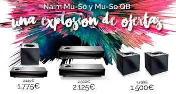 Naim Mu-So una explosión de ofertas