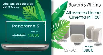 Ofertas de mayo de Bowers and Wilkins