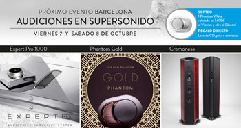 AUDICIONES SUPERSONIDO BARCELONA: 7 y 8 de octubre