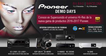 Pioneer Demo Days: Bilbao 11 y 12 de noviembre - Barcelona 18 y 19 de noviembre