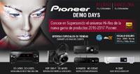 Pioneer Demo Days: Bilbao 14 y 15 de octubre - Barcelona 21 y 22 de octubre