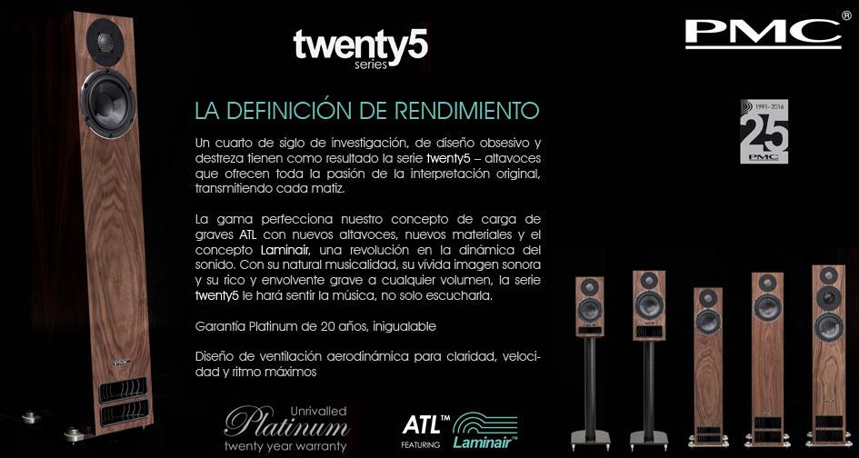 PMC Twenty5 series: La definición de rendimiento