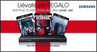 Estas Navidades llévate de regalo estas 3 películas en UHD 4K