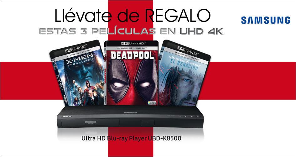 Llévate de regalo estas 3 películas en UHD 4K