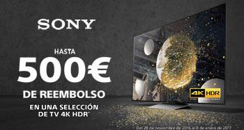 Reembolso SONY 4K HDR