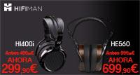 HIFIMAN HI400i y HE560: oferta auriculares