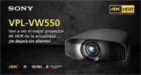 SONY VPL-VW550: Jornadas de demostración