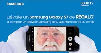 Samsung SUHD: llévate un Samsung Galaxy S7 de REGALO