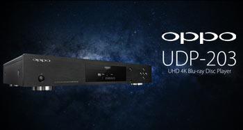 Nuevo UHD Blu-ray Oppo UDP-203 4K: Reserva ya tu unidad