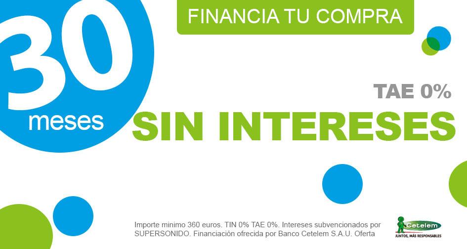 Financiación 18 meses sin intereses