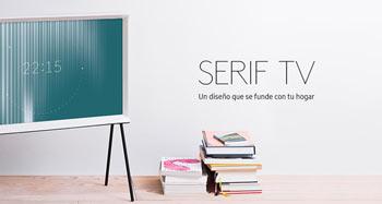 Samsung Serif TV: un diseño que se confunde con tu hogar