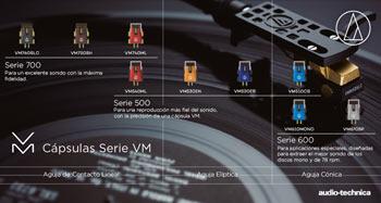 Audio-Technica: Cápsulas Serie VM