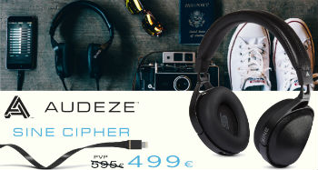 Audeze SINE + cable CIPHER