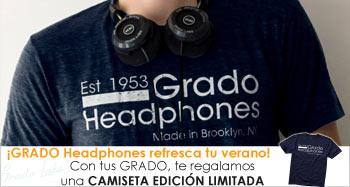 GRADO headphones refresca tu verano