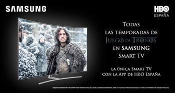 SAMSUNG SMART TV CON APP HBO ESPAÑA