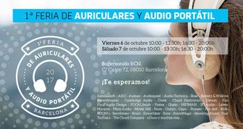 1ª FERIA DE AURICULARES Y AUDIO PORTÁTIL