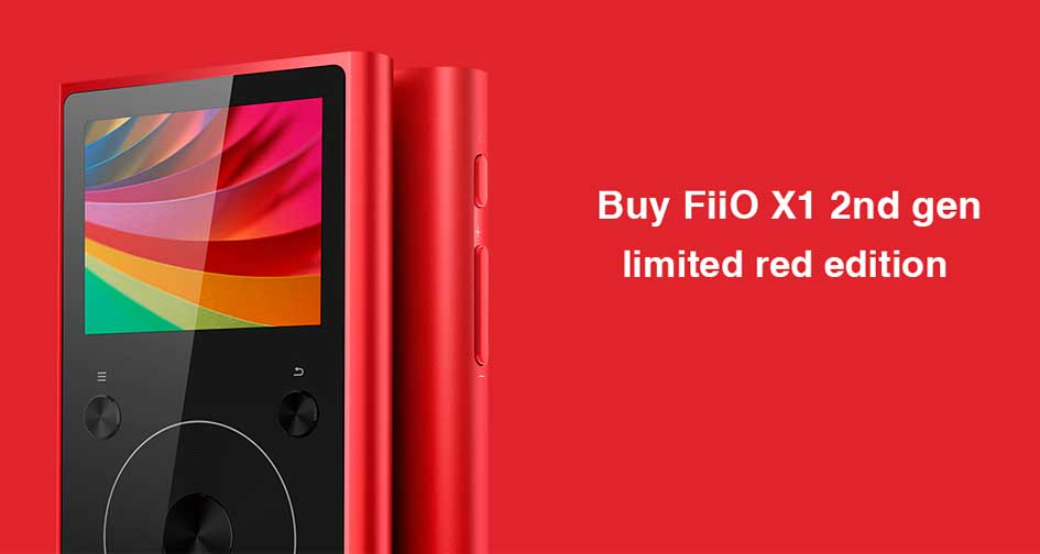 FIIO X1: limited red edition