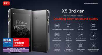 FIIO X5: 3er gen
