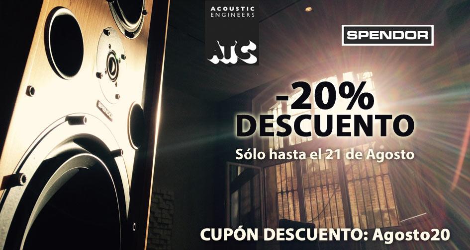 DESCUENTO 20% ATC Y SPENDOR