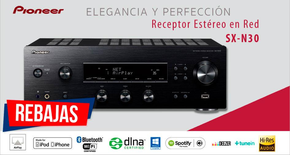 PIONEER SX-N30: elegancia y perfección