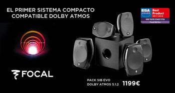 El primer sistema compacto compatible con Dolby Atmos