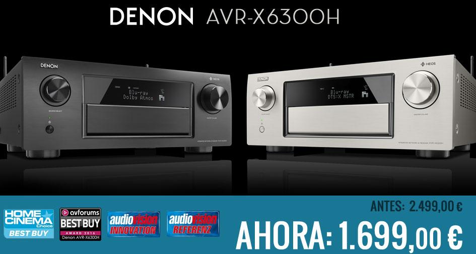 Denon AVR-X6300H: regalo de Blade Runner 4K Ultra HD + Bluray