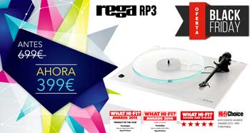 Giradiscos REGA RP3: oferta Black-Friday