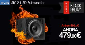 SVS SB12-NSD Subwoofer. Oferta Black-Friday
