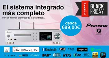 Pioneer NC-50DAB: Oferta Black Friday