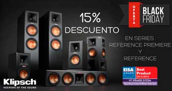 KLIPSCH: 15% descuento Reference Premiere y Reference