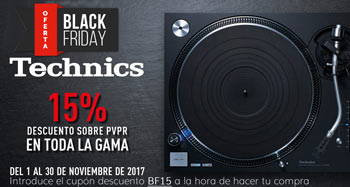 TECHNICS: Descuento 15% Black Friday