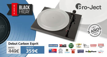 PRO-JECT DEBUT CARBON ESPIRIT: Oferta Black Friday