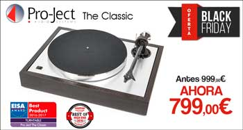 PRO-JECT THE CLASSIC: Oferta Black Friday