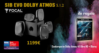 FOCAL SIB EVO DOLBY ATMOS 5.1.2: regalo de Bluray